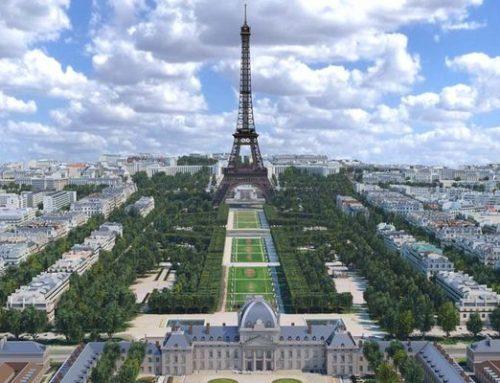 La tour Eiffel scannée au centimètre près