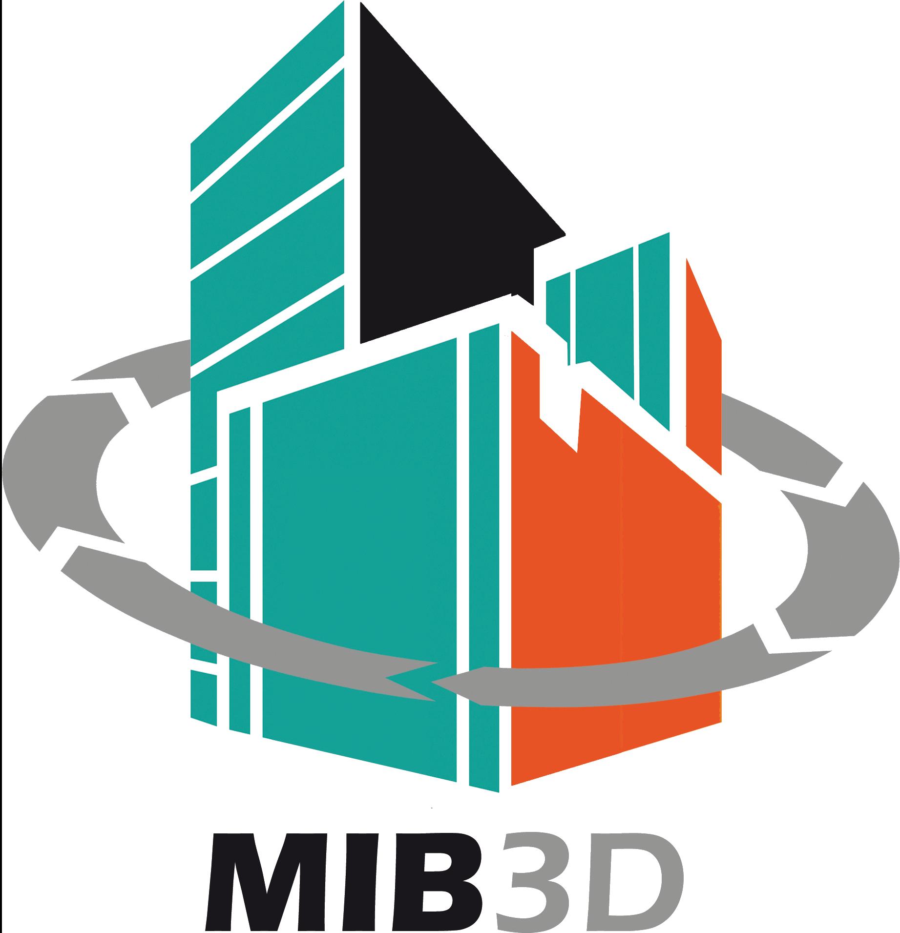 MIB 3D Logo