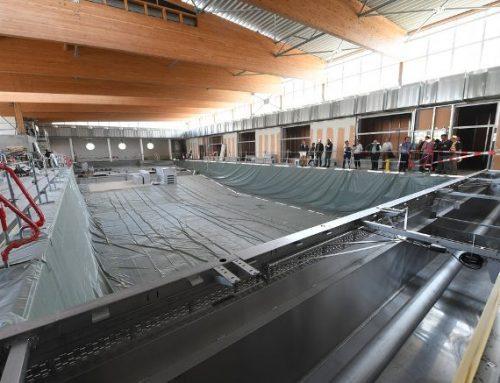 Le stade Pierre-de-Coubertin entame les finitions des travaux